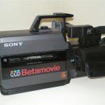 İlk Video Kameram, Sony BMC-550 CCD Betamovie Analog Kamera AF Betamax